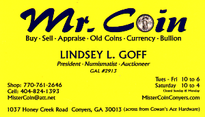 Mr Coin Conyers Georgia